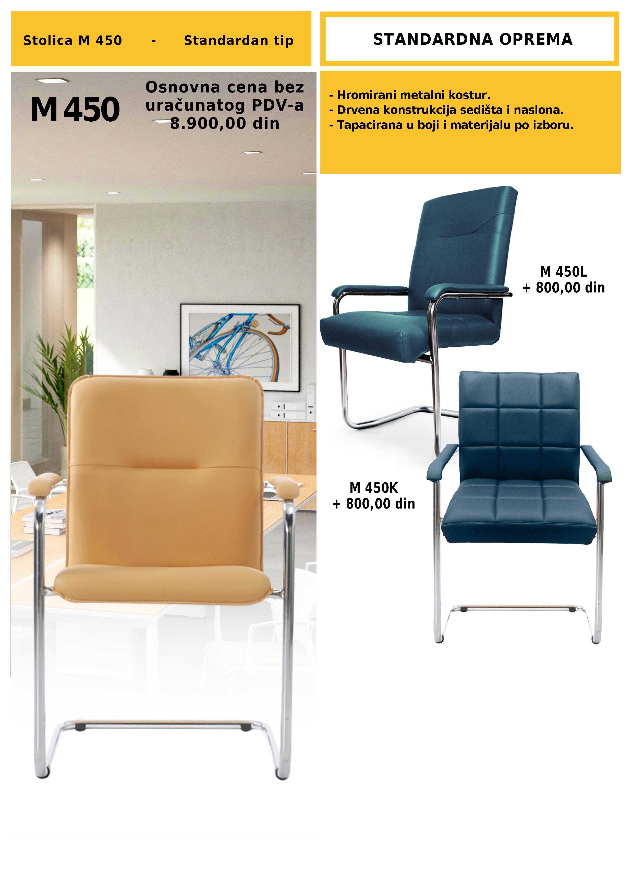 Konferencijska stolica M 450