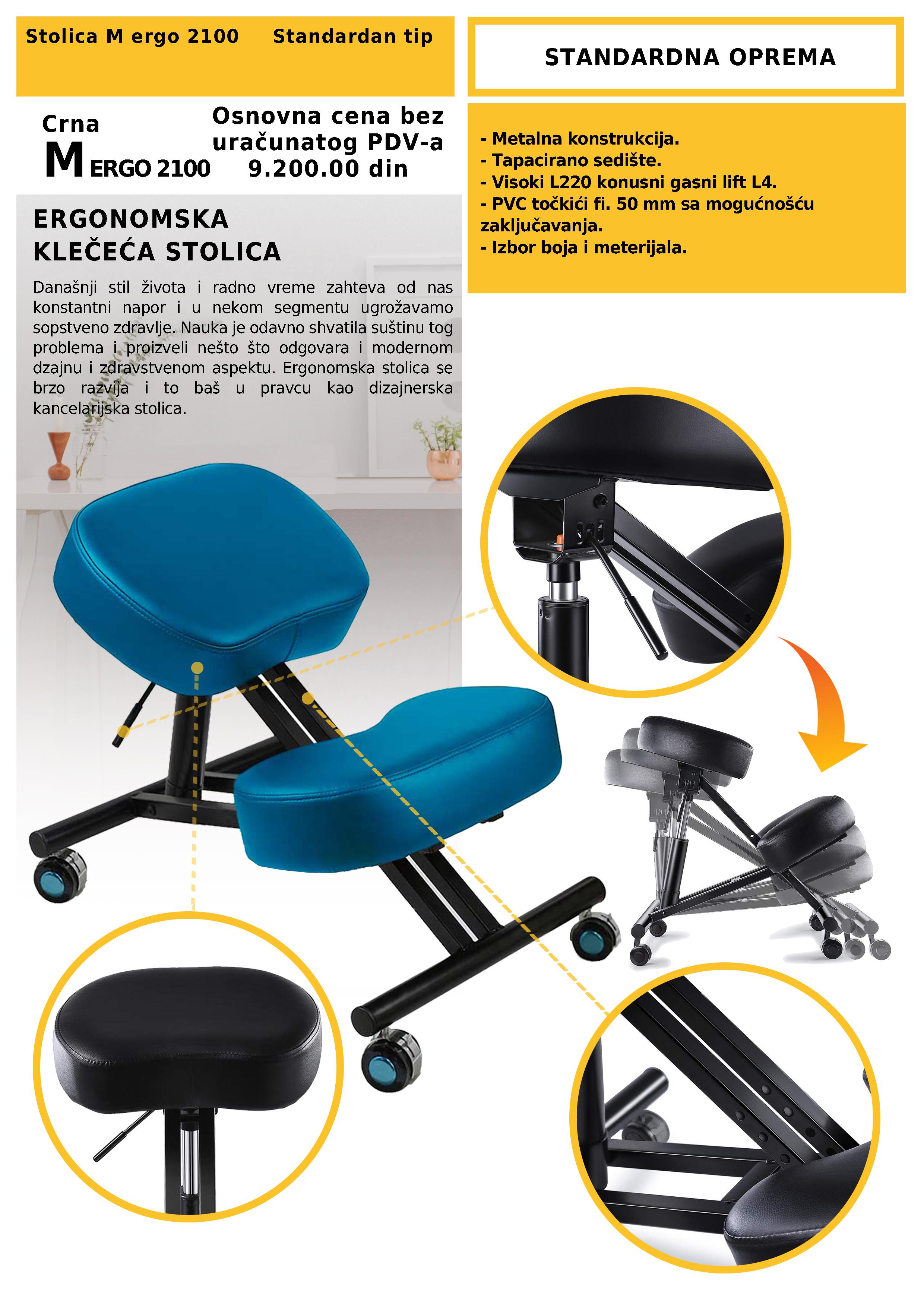 klečeća stolica prodaja