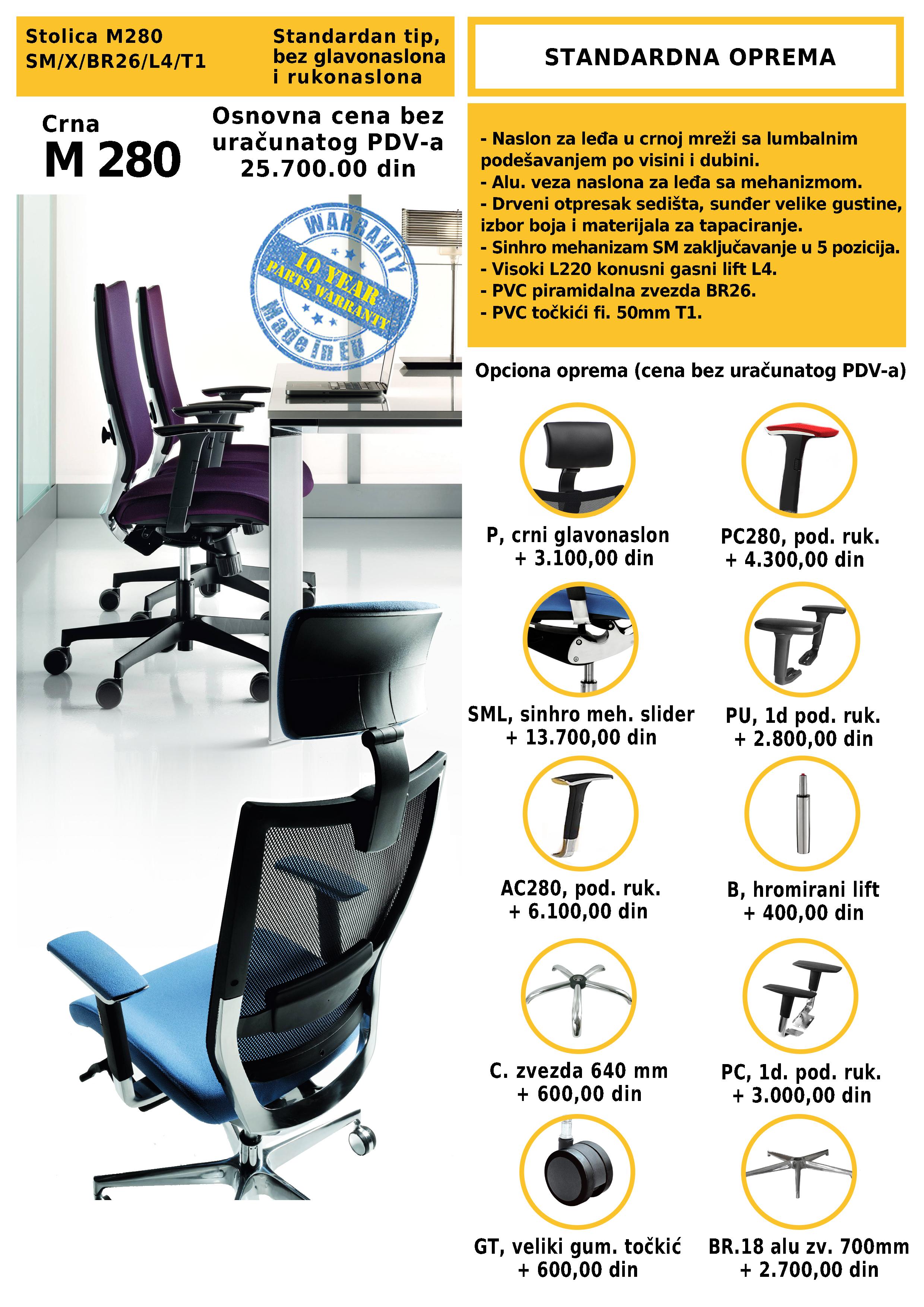 ergonomske stolice prodaja Modrulj