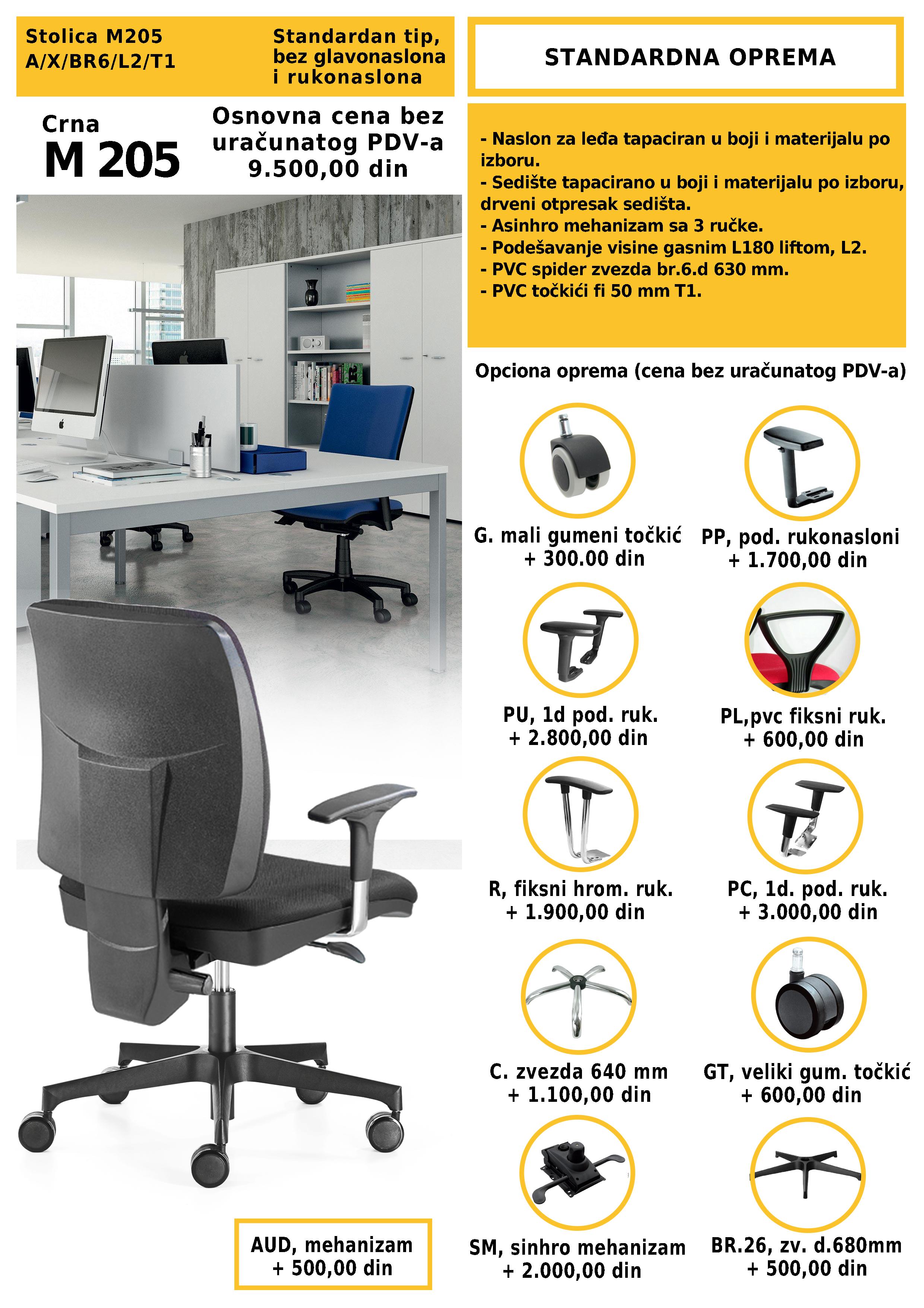 stolica za računar novi sad