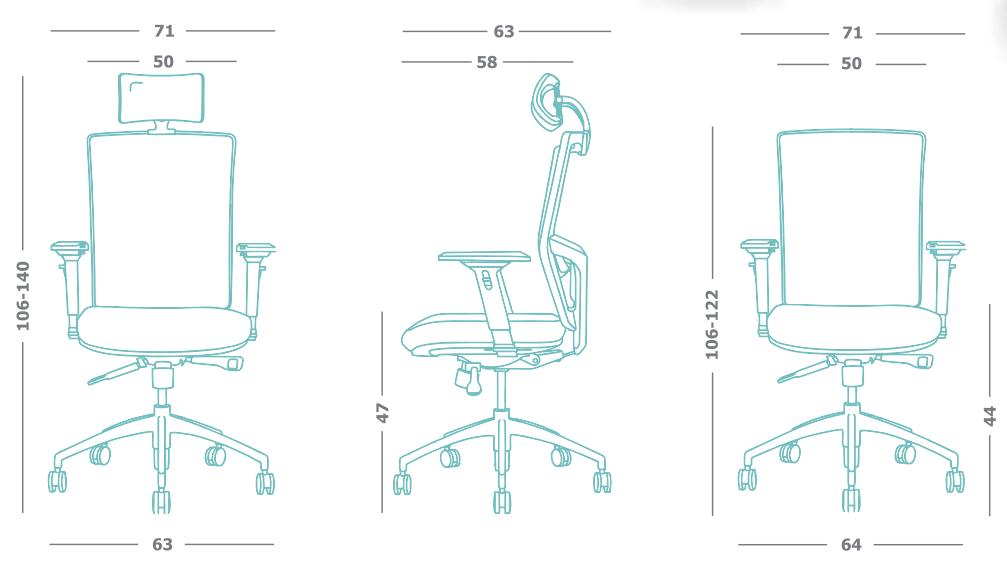 ergonomske stolice cene novi sad