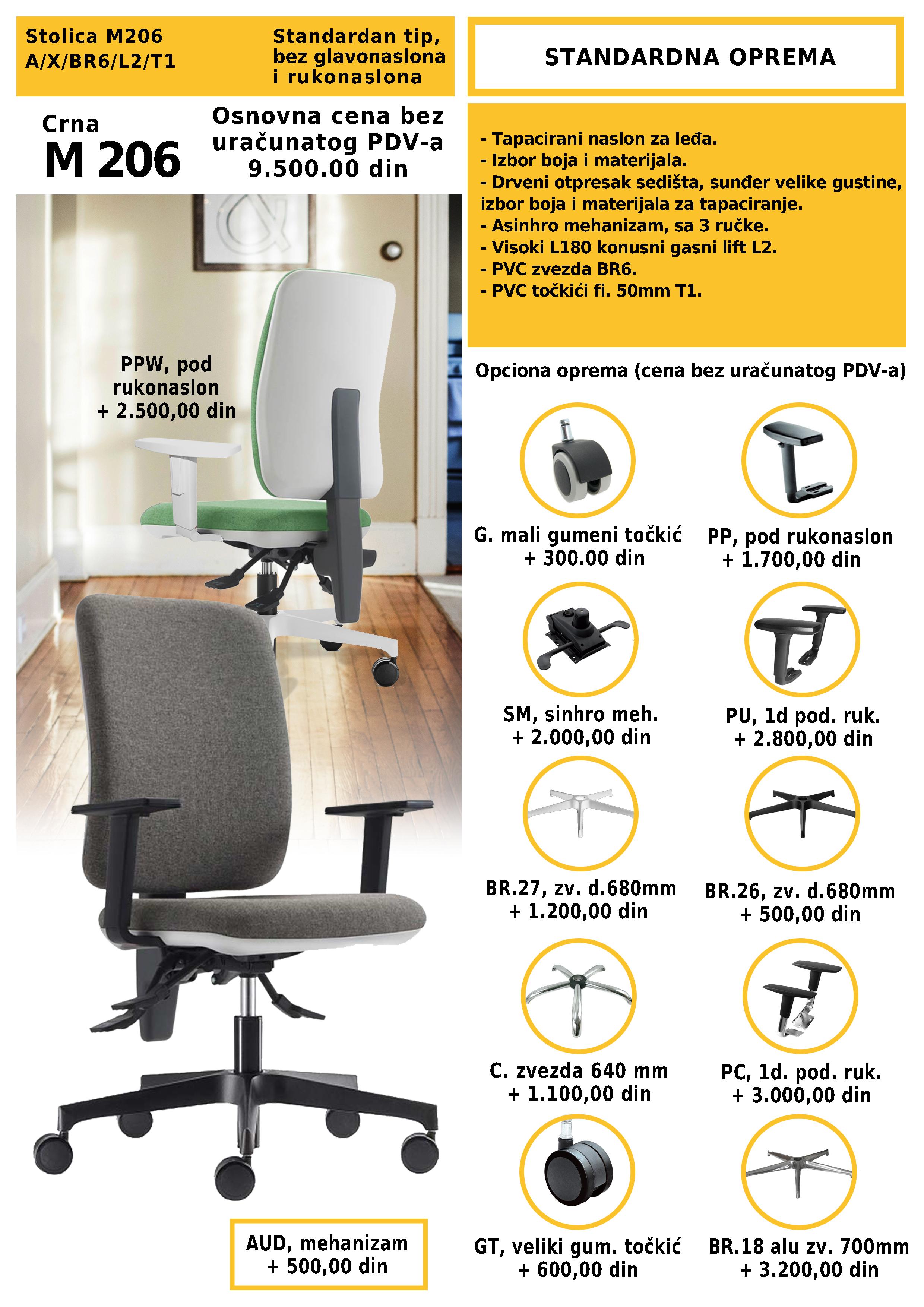 daktilo stolice prodaja novi sad