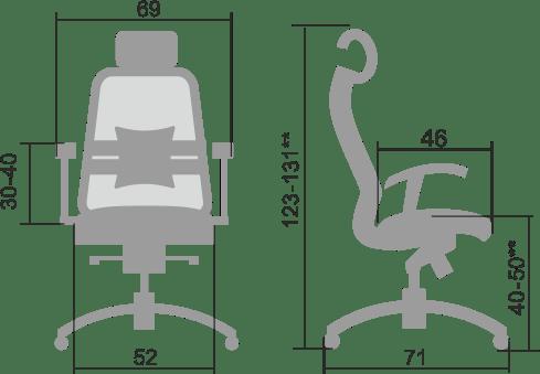 ergonomske stolice modrulj prodaja