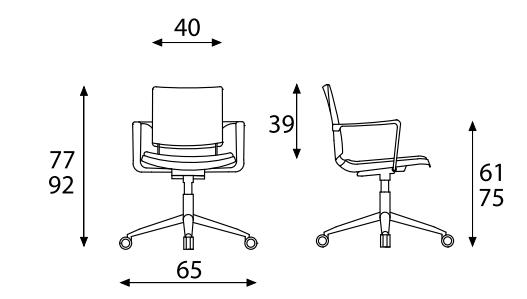 daktilo stolica akcija