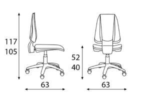 daktilo stolice novi sad modrulj