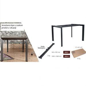 Kancelarijski stolovi model Truva - ekskluziv kolekcija
