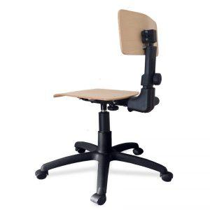 Laboratorijska (industrijska) stolica – M 630 s-cp-x-br5-l1-t1