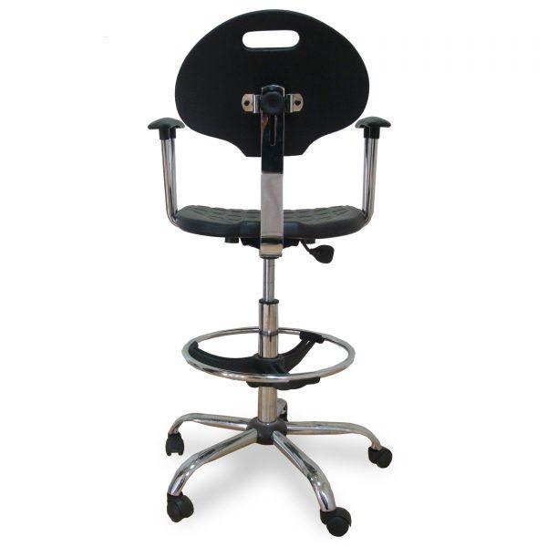 M 650 hrom/y/r/c/l5/t1/o, laboratorijska (industrijska) stolica