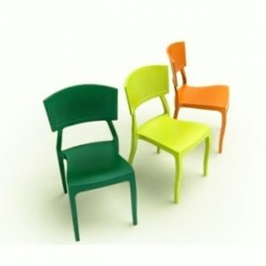Plasticne stolice za restorane i kafice CT-356-RK