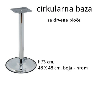 Postolje za klub stolove