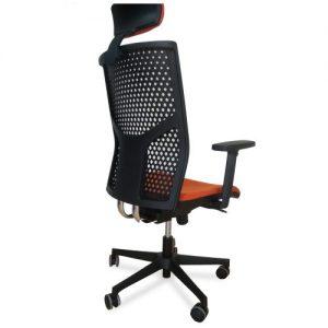 Radna kopjuterska stolica M 255-sm-pu-br26-l4-t1-nz-g