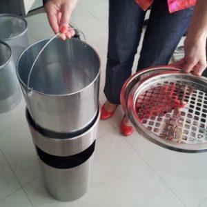 Salonska pepeljara čišćenje
