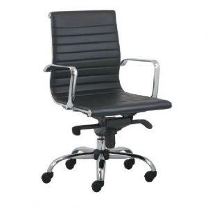 Slim fotelja za kancelariju OFF14 niska