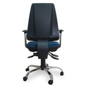 Stolica za komjuter M 201 crna hrom