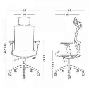 ergonomske stolice za kompjuter modrulj