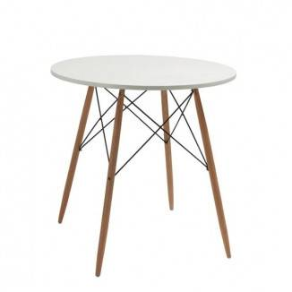 Trpezariski sto sa drvenim nogama
