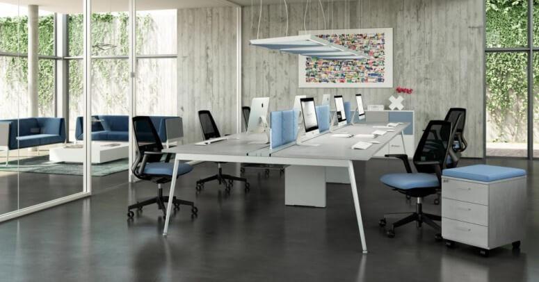 Kancelarijske stolice u modernom radnom prostoru