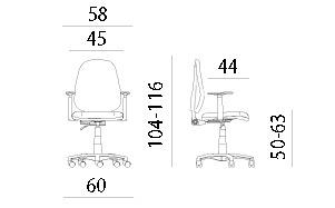 daktilo stolica cena