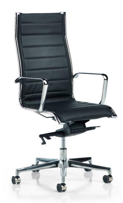 Crna kancelarijska stolica