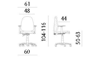 daktilo stolice cena