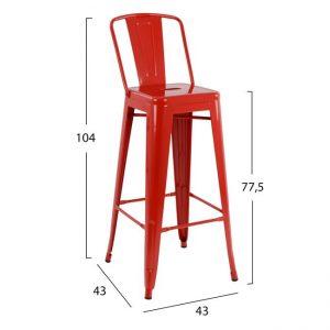 barske stolice modrulj
