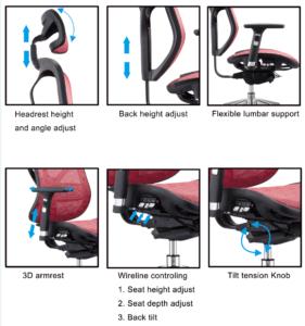 Ergonomska stolica M 526A