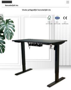 električni sto